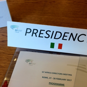 Presidency G7 Africa Directors meeting