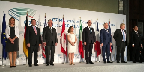 G7 Foreign Affairs documents