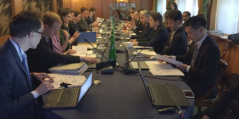 First Meeting of the Working Group on Human Mobility
