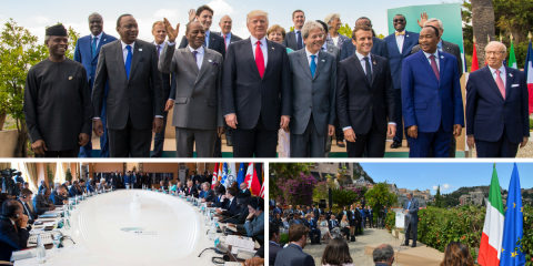 The second and last day of the G7 in Taormina has come to an end