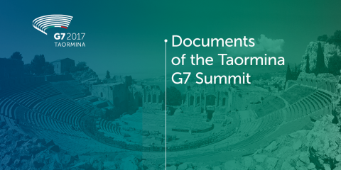 Documents of the G7 Summit in Taormina