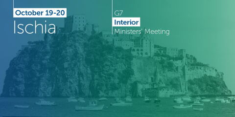 The G7 Meeting of Ministers of the Interior will start tomorrow in Ischia
