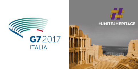 Strengthening Unite4Heritage initiative, a priority of the G7 Culture