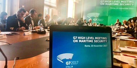 The G7 High Level Meeting on Maritime Security