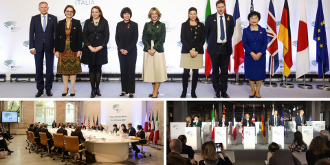 The G7 Health Ministers' meeting has ended