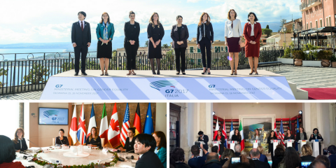 The G7 meeting on Gender Equality has come to an end