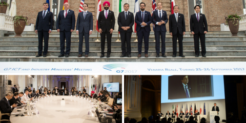 The ICT-Industry Ministerial Meeting has come to an end